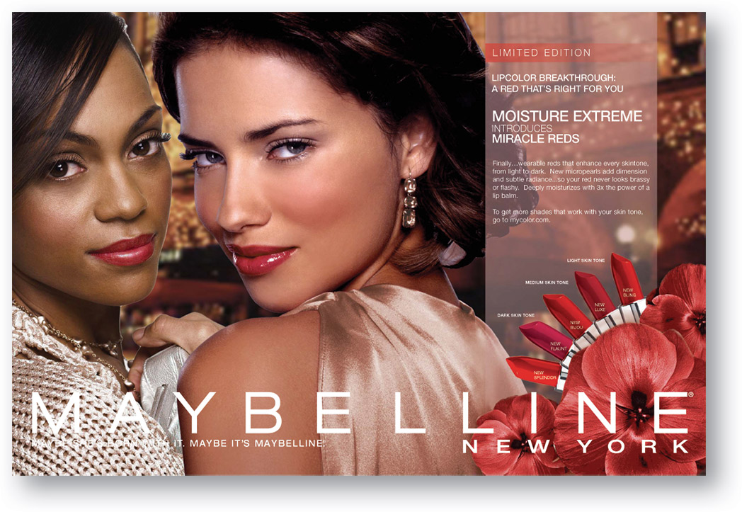 Maybelline: Ads