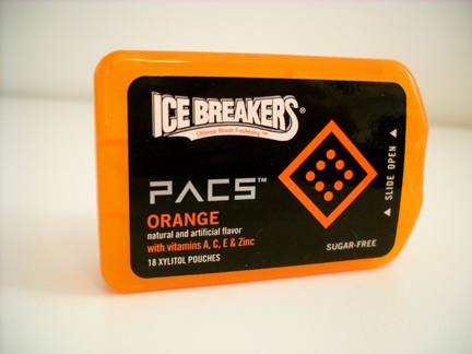 """Pacs"" from Ice Breakers"