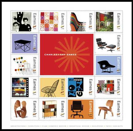 Eames Stamps, Yipee!