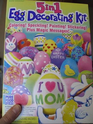 The Kit Truly Offered Unlimited Egg Decorating Tools Liquid Dyes A Pallet Brushes Sponges Stickers As Well Wax Pen Which Turned