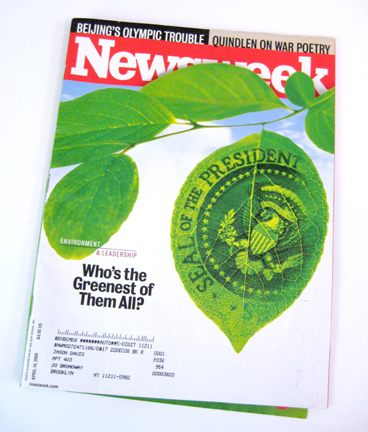 Newsweek Green Issue