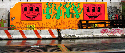 Street Art for the Haring Impaired