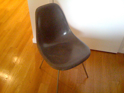 Gray Shell Chair