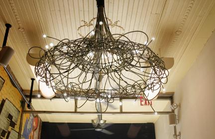 new york's first solar powered ecoeatery, Lighting ideas