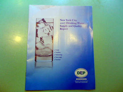 2007 NYC Drinking Water Supply and Quality Report