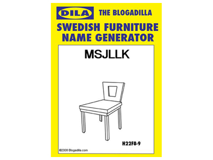 The Swedish MSLK Chair