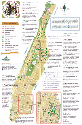 Compost Map of Manhattan
