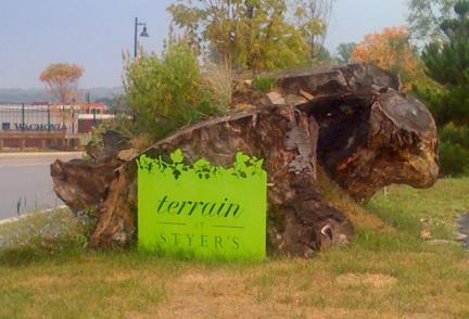 Terrain at Styers