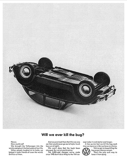 Old VW Ad