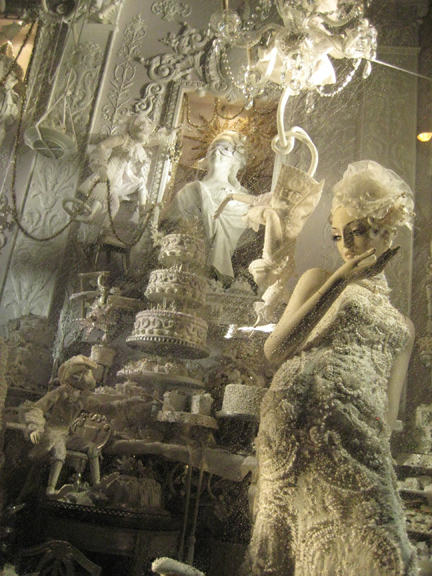 Bergdorf Window Display Christmas New york 2008
