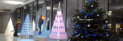 Fashion Designers Reimagine the Christmas Tree