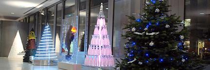 Fashion Designers Reimagine the Christmas Tree