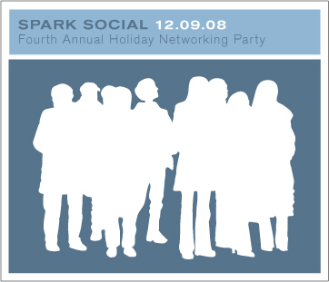 Spark Toasts the Holidays with Our Fifth Annual Networking Party