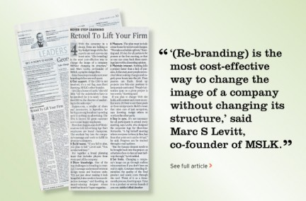 Marc and Sheri of MSLK Share Their Expertise on Strategic Rebranding