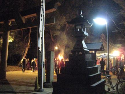 MSLK vistis a Shrine on New Year's in Kosugai, Japan
