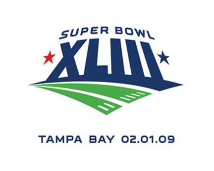 Superbowl 43 Logo