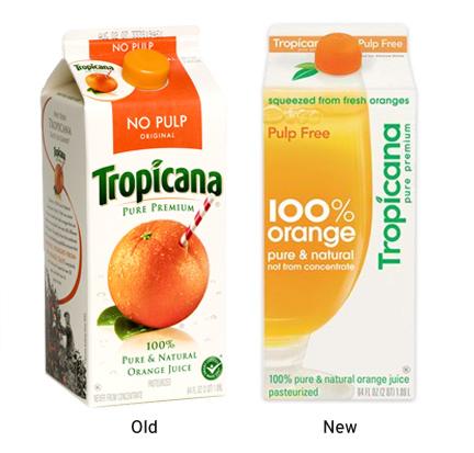 Tropicana Brand Redesign