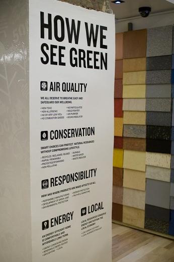 Green Depot Signage