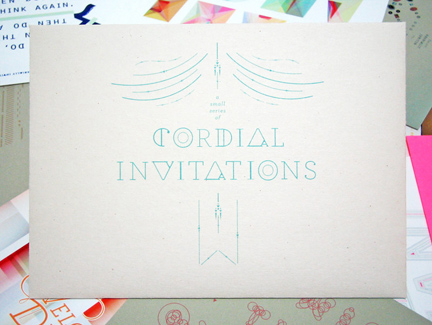 You are Cordially Invited to…