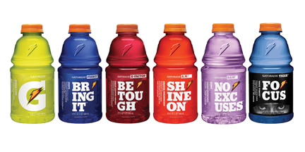 Gatorade Rebranding
