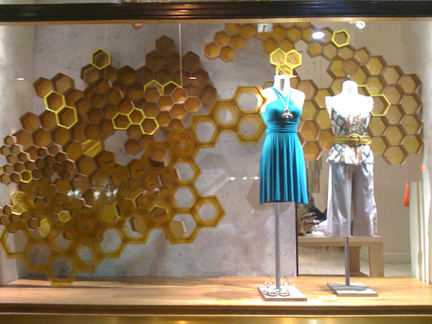 Bee Kind. Anthropologie Reminds us that Honey Bees Are Our Friends.