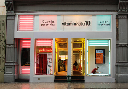 vitaminwater10 Pop-Up