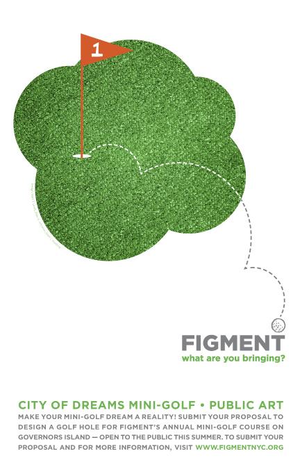 Figment Mini-Golf Poster