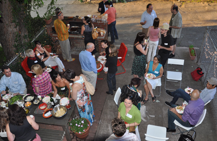 MSLK Hosts Annual Spark BBQ Networking Event