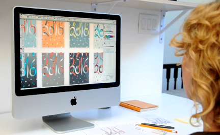 Behind the Scenes: Designing the MSLK Holiday Card