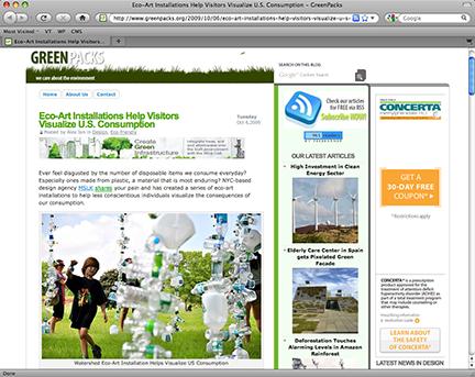 MSLK's Eco-Art Help Raise Public Awareness of Overconsumption