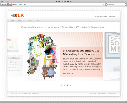 MSLK.com Re-Launches with Greatly Enhanced Work Section – Part I