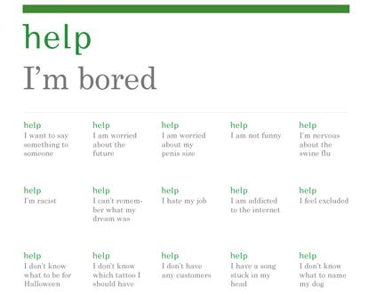 Help I'm Bored