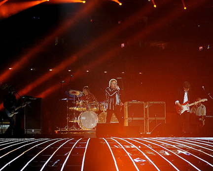 The Who Stage a Halftime Show to Rival the Stage Itself