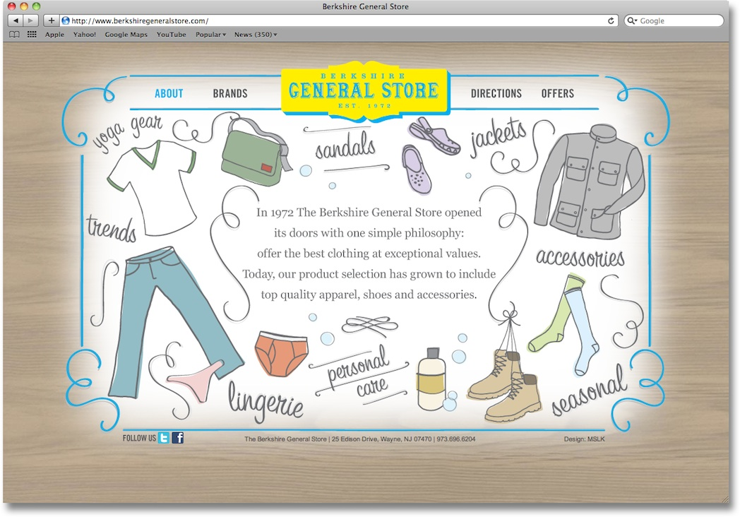 The General Store: Website