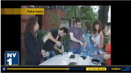 "MSLK's Take-Less Project Featured on NY1's ""Your Weekend Starts Now"""