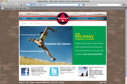 Interbrand's Favorable Review of Wigwam.com's Web Experience