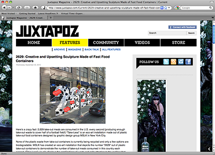 Juxtapoz Reacts to Take-Less Installation