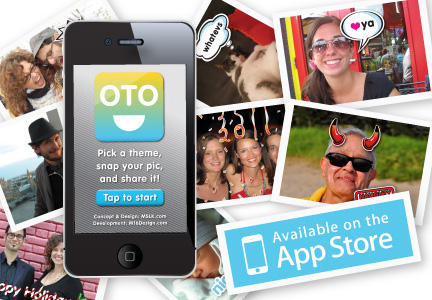 MSLK's App, OTO, is Available for Free on iTunes!