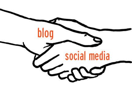 Blogs and Social Media go hand in hand