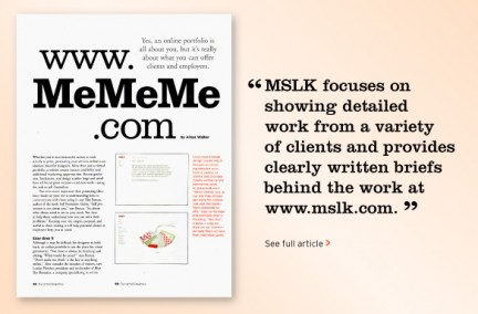 MSLK is a Forerunner in Developing Promotional Websites