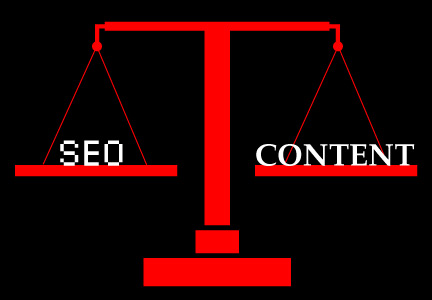 Balancing Search Engine Optimization and Blog Content