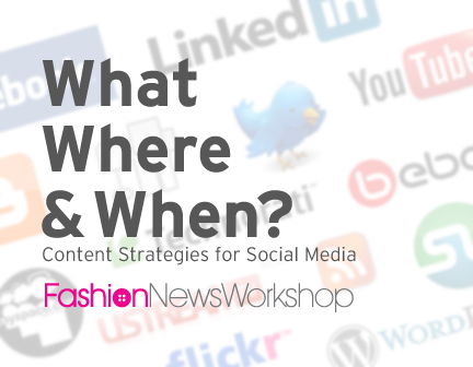 Sheri Koetting to Speak On Social Media Strategies at the Fashion News Workshop