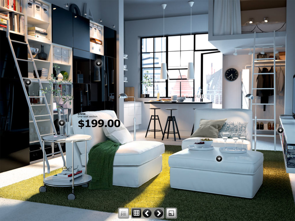 Enhancing the e commerce shopping experience with rich for Ikea virtual room