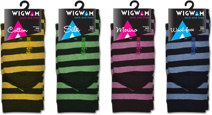 MSLK's New Design for Wigwam's Casual Packaging