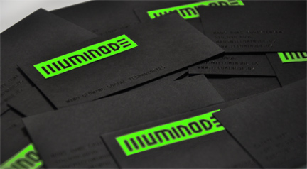 Our New Branding for Illuminode Turns up the Dark