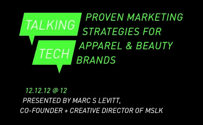 New Webinar— Talking Tech: Proven Marketing Strategies for Apparel & Beauty Brands