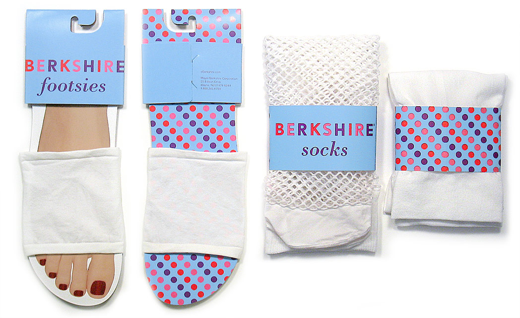 Berkshire Hosiery: Sock Packaging
