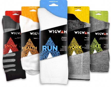 Wigwam: 2012 Packaging Redesign