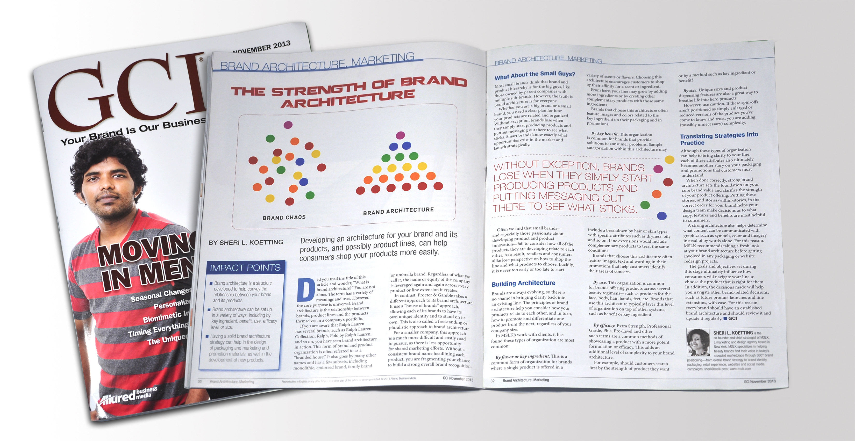 GCI Article: The Strength of Brand Architecture