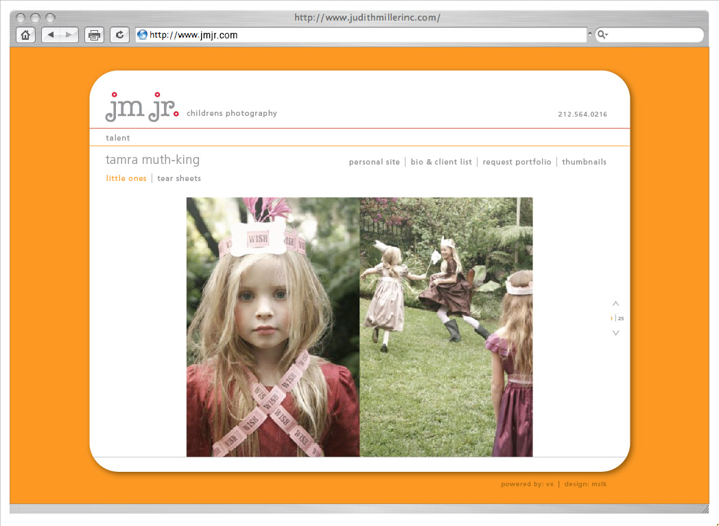 Judith Miller: JM JR website